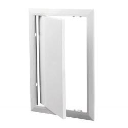Люк-дверца 300*400мм фланец, пластик, рамка 317*417мм, нажимной, Д 300*400, Vents