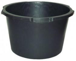 Емкость строительная, круглая, пластмассовая 90л 13190