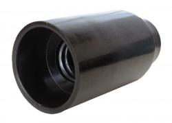Патрон E14 карболит черный, подвесной, UNIVERSAL, 5560721