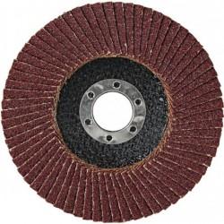 Круг лепестковый торцевой для МШУ 115*22мм Р80 (Луга)