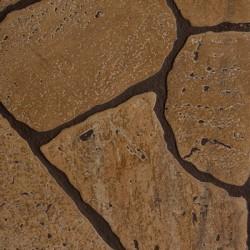 Панель стеновая МДФ 1220х2440х6мм Камень Коричневый
