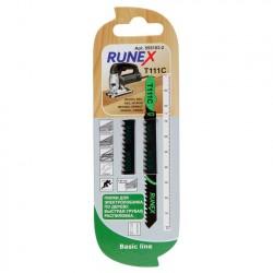 Набор пилок для лобзика 2шт по дереву T111C 100*75мм RUNEX 555103-2