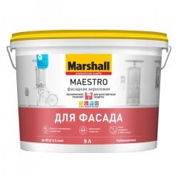 Краска Marshall Maestro фасадная  База BW белая гл/ма 9л