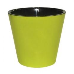 Горшок для цветов Фиджи D16см 1,6л салатовый