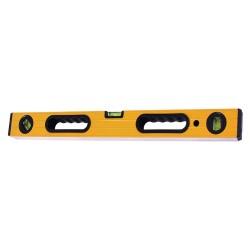 Уровень 80см алюминиевый 3 глазка, с ручками T4P 2503208