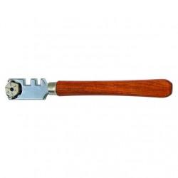 Стеклорез 6-роликовый с пластмассовой ручкой T4P 2706001