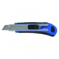 Нож 18мм с выдвижным лезвием (5 лезвий) Профи Автомат T4P 2701008