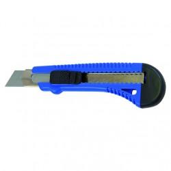 Нож 18мм с выдвижным лезвием и метал. ведомой T4P 2701002