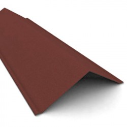 Щипец черепицы Ондулин, цвет коричневый, 1000 х 150 мм