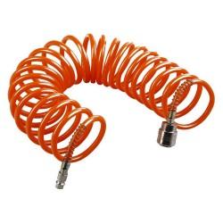 Шланг спиральный WESTER 5м 5*8мм с адаптерами БРС (евро) 814-007