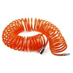 Шланг спиральный WESTER 10м 5*8мм с адаптерами БРС (евро) 814-008