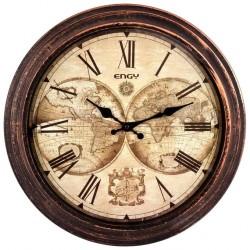 Часы настенные кварцевые ENGY модель ЕС-17 круглые 9317