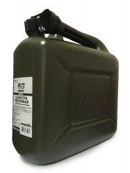 Канистра топливная пластик.10л.(темн.зелен.)AVS TPK-Z 10