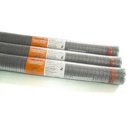 Сетка металлическая оцинкованная StreckR, ячейка 20 х 20 мм, размер сетки 1 х 15 м (15м2, 1 рулон)