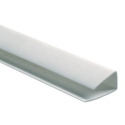 Профиль стартовый 10мм 3,0м белый /Д/