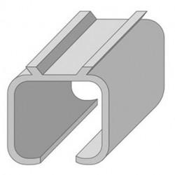Направляющая верхняя для раздвижных дверей N2-2м