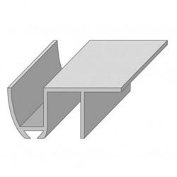Направляющая нижняя для раздвижных дверей N3-1м