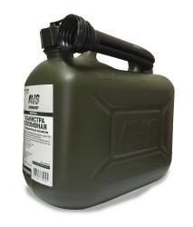Канистра топливная пластик.5л.(темн.зелён.)AVS TPK-Z 05