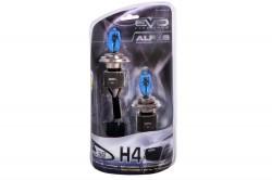 Газонаполненные лампы AVS ALFAS Pure-White 6000К H4 12V 75/85W, комплект 2 шт. A07244S