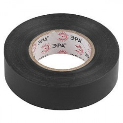 Изолента ПВХ 15мм*20м*0,15мм черная, Эра