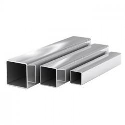 Труба алюминиевая квадратная, 40 х 40 х 1,5 мм, длина 1 м
