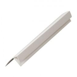 Профиль F-образный 10мм 3,0м белый /Д/