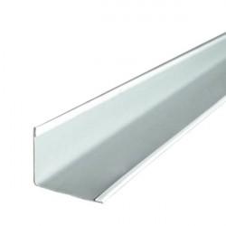 Плинтус PL 19*24мм стальной 3,0м белый