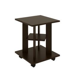 Стол кофейный ТАК-31 (Венге темный) 0,4*0,4*0,5