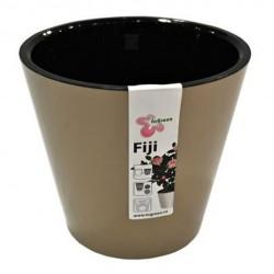 Горшок для цветов Фиджи D23см 5л шоколадный