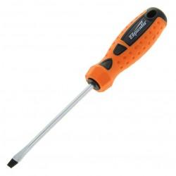 Отвертка 5,0*150мм шлицевая с двухкомпонентной ручкой Sparta 11767