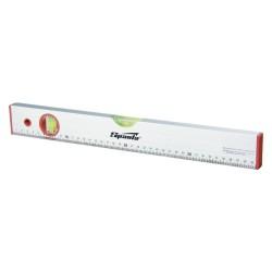 Уровень 120см алюминиевый,  глазка, линейка SPARTA 35112