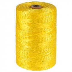 Шпагат полипропилен плотн. 1200текс желтый 50 кгс (110м)