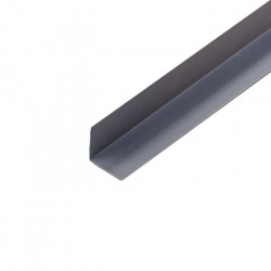 Угол ПВХ 20*20мм 2,7м серый /Д/