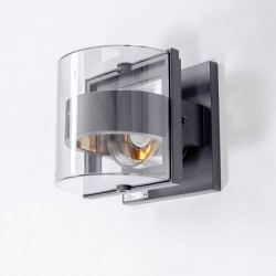 Светильник настенный SIDNEY 1838S темно-серый E27 60Вт