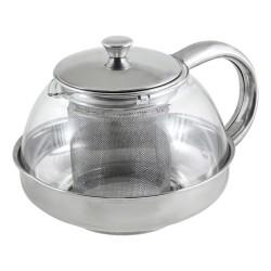 Чайник заварочный 600мл Menta-600 корпус стекло, фильтр нжс Mallony