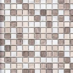 Мозайка каменная Elegant (1,5*1,5) 30,5*30,5