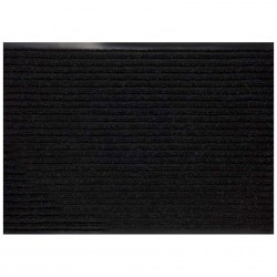 Дорожка влаговпитывающая VORTEX 0,9м ребристая, черный