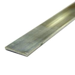 Полоса алюминиевая, 40 х 2 мм, длина 1 м