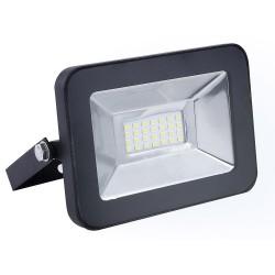 Прожектор светодиодный Ultraflash LFL-1001 C02 черный (LED SMD прожектор, 10 Вт, 230В, 6500К)