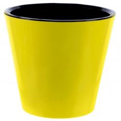 Горшок для цветов Фиджи D23см 5л желтый