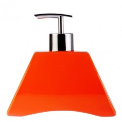 Дозатор для жидкого мыла AKIK-ORANJ керамика, оранжевый D-14300