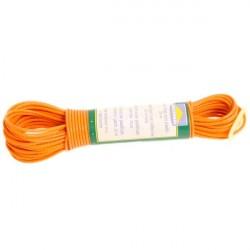 Веревка для белья пластик 20м с фиксатор