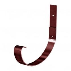 Крепление желоба карнизное, цвет шоколадно-коричневыйRAL 8017, d-125 мм