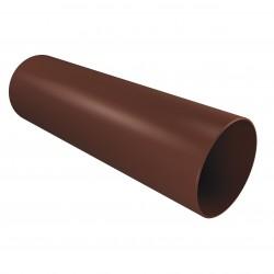 Труба водосточная 3000мм/90мм  кофе Vinyl- On