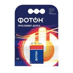 Батарейка крона ФОТОН 9V, 1шт