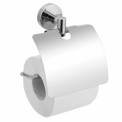 Держатель туалетной бумаги с крышкой Лонг L015