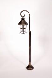 Светильник-столб Caior I 81506/18 состареное золото E27 60Вт