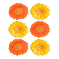 Декоретто Герберы желто-оранжевые FI 1004