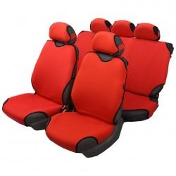 Чехлы автомобильные на сиденье МАЙКА передние красные 2шт с подг. SPRINT MAI00047