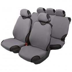 Чехлы автомобильные на сиденье МАЙКА передние+задние серебро с подг. SPRINT MAI00068